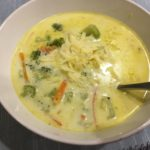 Instant Pot Broccoli Cheese Soup with Bacon
